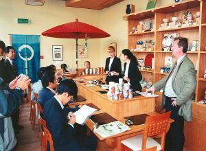ロシア初の日本茶専門店